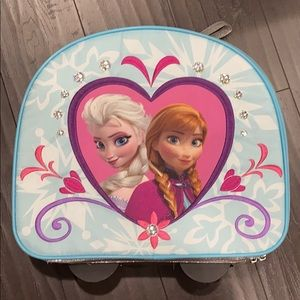 DISNEY Store Frozen Elsa and Anna Rolling Luggage